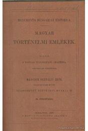 Szamosközy történeti munkái IV. II. pótfüzet - Régikönyvek