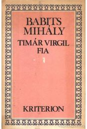 Timár Virgil fia - Régikönyvek