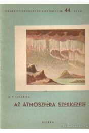 Az atmoszféra szerkezete - Régikönyvek