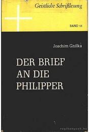 Der brief an die Philipper - Régikönyvek