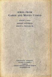 Birds from Gabon and Moyen Congo - Régikönyvek