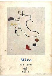 Miro 1924-1940 - Régikönyvek