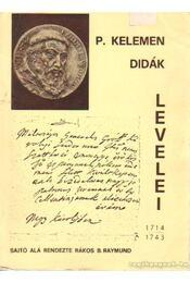 P. Kelemen Didák levelei - Régikönyvek