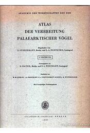 Atlas der Verbreitung Palaearktischer Vögel 9. (Atlasz a kőkorszaki madarak elterjedéséről 9.) - Régikönyvek