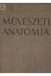 Művészeti anatómia - Régikönyvek