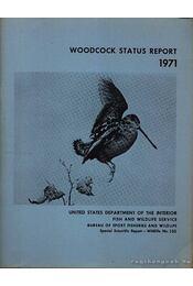 Woodcock Status Report 1971 (Erdei szalonka-helyzetjelentés 1971) - Régikönyvek
