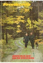 Frankonia Jagd Jahreskatalog 1996/97. 1. - Jadn und Sportschiesen - Régikönyvek