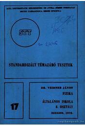 Standardizált témazáró tesztek - Régikönyvek