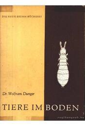 Tiere im Boden 1964 (Állatok a földben 1964) - Régikönyvek