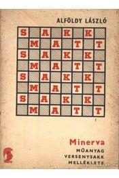 Minerva műanyag versenysakk melléklete - Régikönyvek
