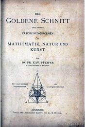 Der Goldene Schnitt - Régikönyvek