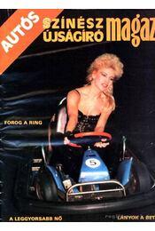 Autós Színész Újságíró Magazin 1987 - Régikönyvek