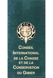 Conseil International de la Chasse et de la Conservation du Gibier - Régikönyvek