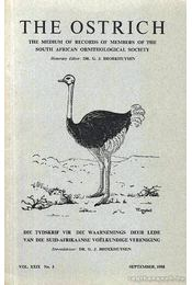 The Ostrich Vol. XXIX No. 3 - Régikönyvek