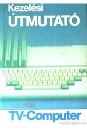 Kezelési útmunató Videoton TV-Computer - Régikönyvek