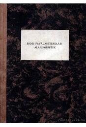Erdei faválasztékolási alapismeretek - Régikönyvek