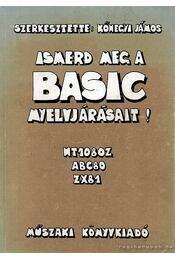 Ismerd meg a BASIC nyelvet! - Régikönyvek