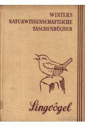 Singvögel - Régikönyvek