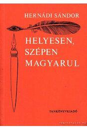Helyesen szépen magyarul - Régikönyvek