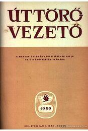 Úttörő vezető 1959 - Régikönyvek