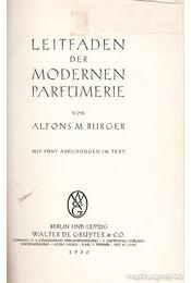 Leitfaden der Modernen Parfümerie - Régikönyvek