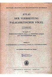 Atlas der Verbreitung Palaearktischer Vögel 3. (Atlasz a kőkorszaki madarak elterjedéséről 3.) - Régikönyvek