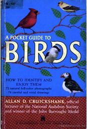 A pocket guide to birds (Zsebkönyv madarakról) - Régikönyvek
