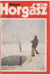 Magyar Horgász 1981. XXXV. évfolyam (hiányos) - Régikönyvek