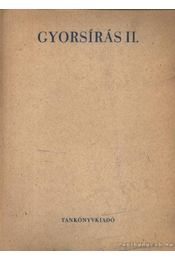 Gyorsírás II. - Régikönyvek