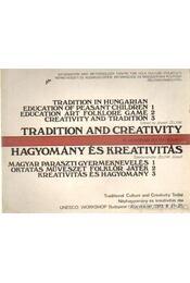 Hagyomány és kreativitás I-III. - Régikönyvek