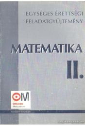 Matematika II. - Régikönyvek