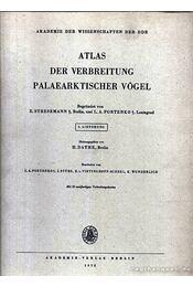 Atlas der Verbreitung Palaearktischer Vögel 5. (Atlasz a kőkorszaki madarak elterjedéséről 5.) - Régikönyvek