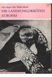 Die Landschildkröten Europas - Régikönyvek