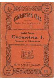 Geometria I. - Lenkei Ferenc - Régikönyvek