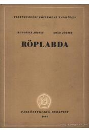 Röplabda - Régikönyvek