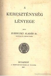 A keresztség lényege - Régikönyvek
