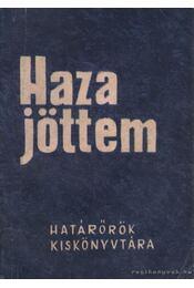 Hazajöttem - Jászberényi Károly - Régikönyvek