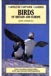 Birds of Britain and Europe - Régikönyvek