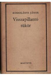 Visszapillantó tükör - Kodolányi János - Régikönyvek