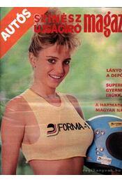 Autós Színész Újságíró Magazin 1988 - Régikönyvek