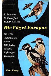 Die Vögel Europas - Régikönyvek