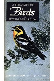 A Field List of the Birds of the Pittsburgh Region - Régikönyvek
