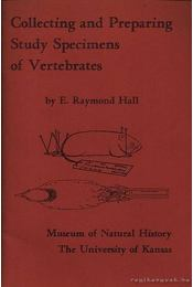 Collecting and Preparing Study Specimens of Vertebrates - Régikönyvek