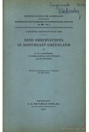 Bird Ovservations in Northeast Greenland - Régikönyvek