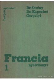 Francia nyelvkönyv I. (1974) - Régikönyvek