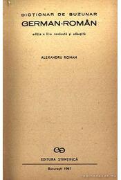 Dictionar de buzunar german-roman - Régikönyvek