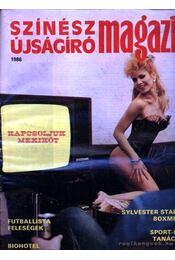 Színész Újságíró Magazin 1986 - Régikönyvek