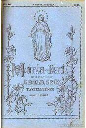 Mária-kert XLI. évf. 2. 1925. - Régikönyvek