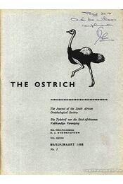 The Ostrich Vol. XXXVII. No.1. 1966 (A strucc 37. évf. 1. szám 1966) - Régikönyvek