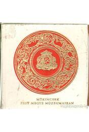 Műkincsek Pest megye múzeumaiban (mini) - Régikönyvek